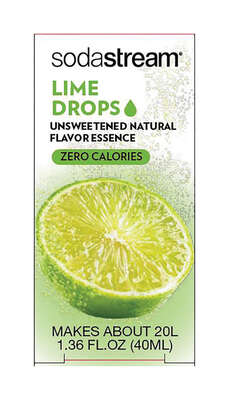 SodaStream Lime Sparkling Water Mix 1.36 oz. 1 pk