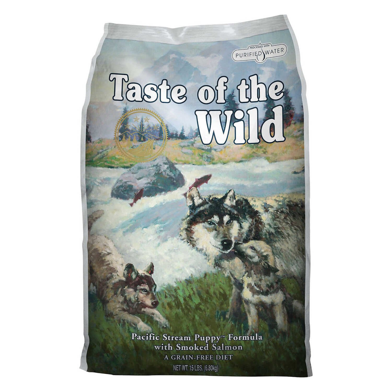 Taste of the Wild  Pacific Stream  Salmon  Dry  Dog  Food  Grain Free 30 lb.