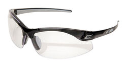 Edge Eyewear Zorge G2 Safety Glasses Clear Lens Black Frame 1 pc.