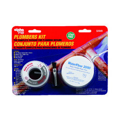 Alpha Fry  6 oz. Lead-Free Plumbers Kit  0.12 in. Dia. Silver-Bearing Alloy  1 pc.