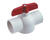 Colonial  3 in. PVC  MIP  Ball Valve