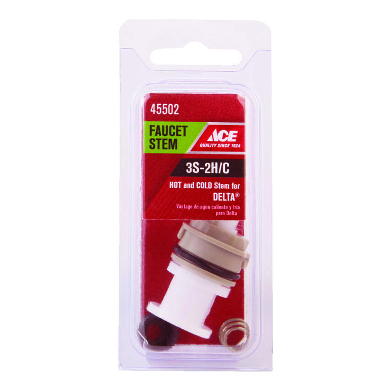 Ace  3S-2H/C  Hot and Cold  Faucet Stem