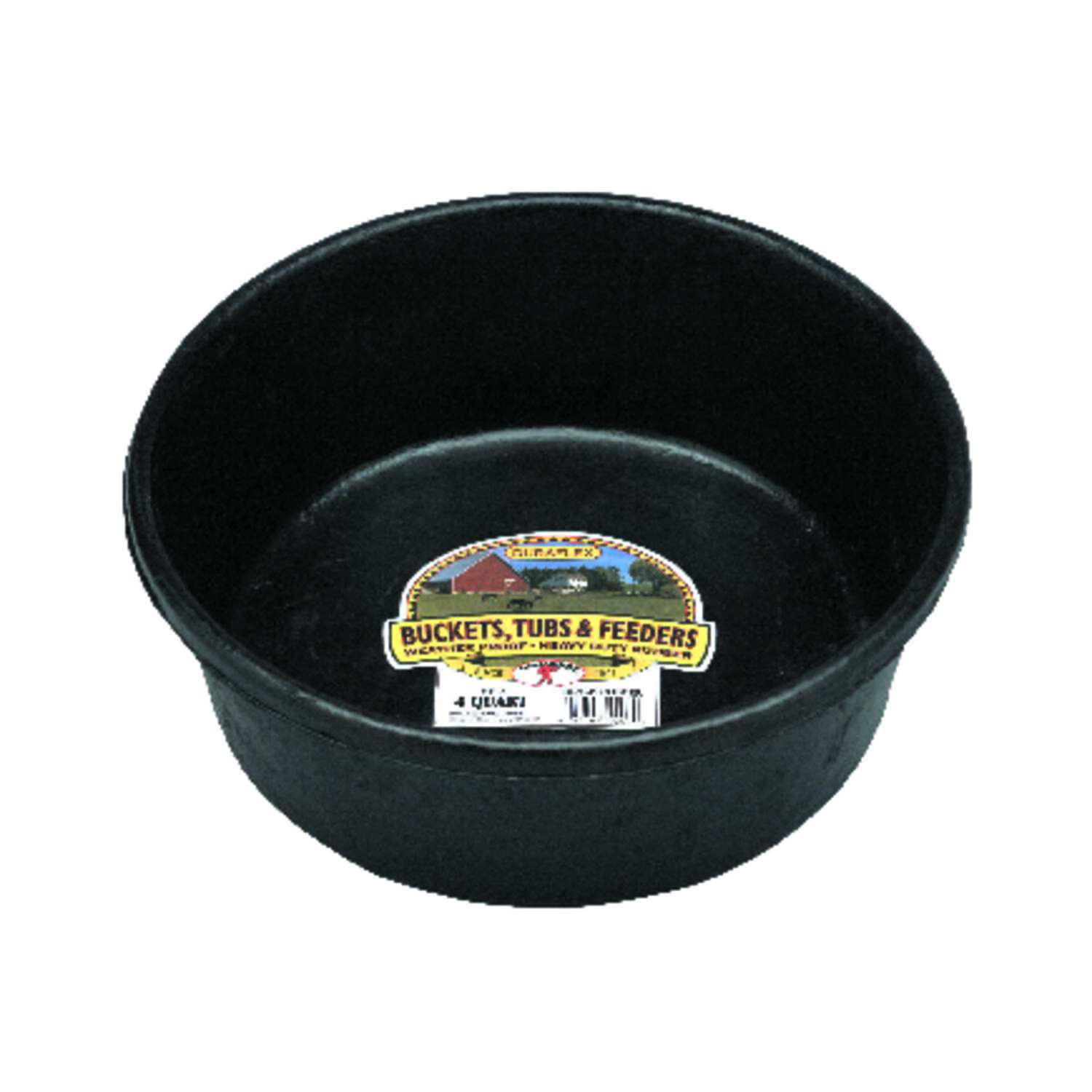 Little Giant  128 oz. Feeder Pan  For Livestock