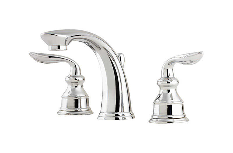 Pfister  Avalon Widespread  Two Handle  Lavatory Faucet  8 in. Polished Chrome