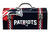 Windco 16.25 in. Steel New England Patriots Art Deco Tool Box 7.1 in. W x 7.75 in. H