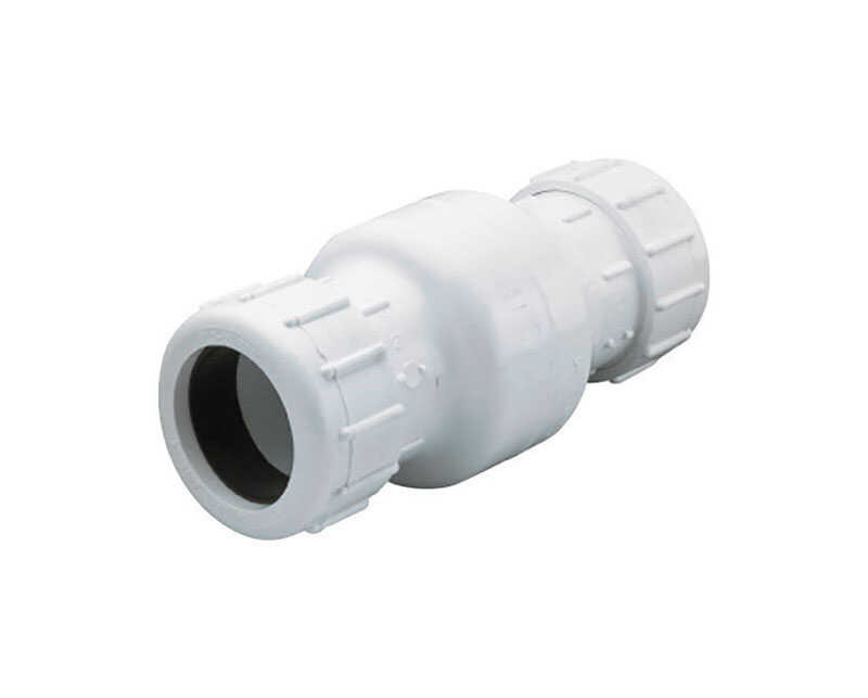 Parts 2O  2 Compression  PVC  Swing  Check Valve
