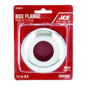 Ace  1-1/4 in. Metal  Box Flange