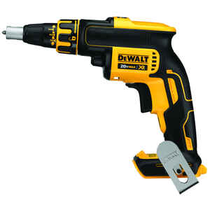 DeWalt  20V MAX XR  1/4 in. Hex  Cordless  Brushless Drywall Screw Gun  20 volt 4400 rpm 1 pc.