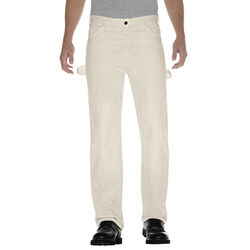 Dickies Men's Double Knee Pants 38x30 White