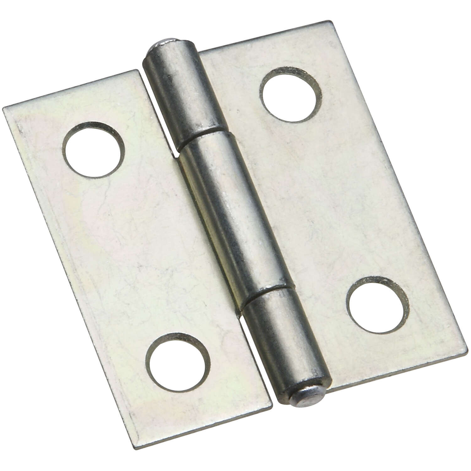 National Hardware  1-1/2 in. L Zinc-Plated  Door Hinge  2 pk