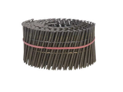 Bostitch  2-1/2 in. 13 Ga. Angled Coil  Framing Nails  15 deg. Ring Shank  3600 pk