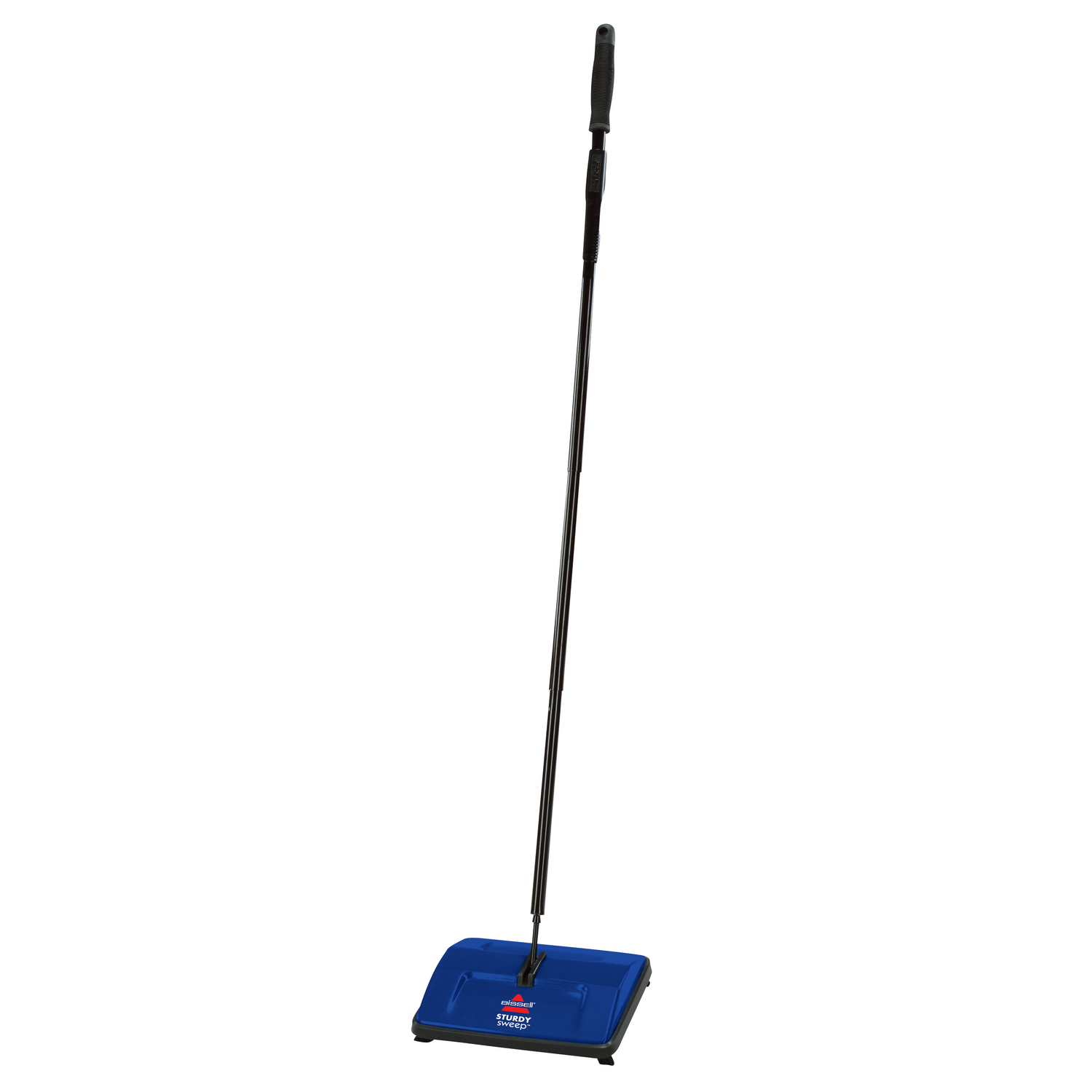 Bissell  Study Sweep  Bagless  Mechanical Sweeper  Standard  Blue
