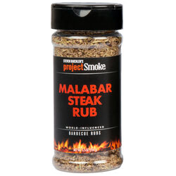 Steven Raichlen Project Smoke  Malabar  Steak Rub  5.5 oz.