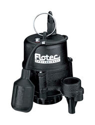 Flotec  Professional  1/2 hp 4020 gph Cast Iron  Tethered Float  Sewage Pump