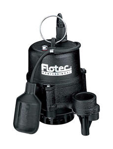 Flotec  Professional Series  1/2 hp 4020 gpm Cast Iron  Submersible Sewage Pump
