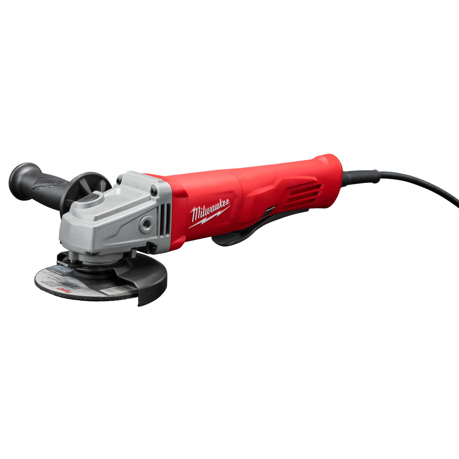 Milwaukee  4-1/2 in. 11 amps Corded  Small Angle Grinder with Lock-On  11000 rpm