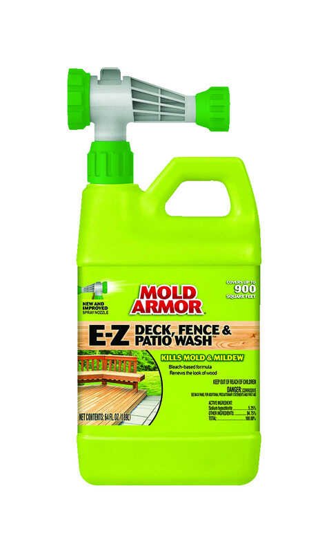 Mold Armor E Z Deck Fence and Patio Wash 64 oz Liquid Ace Hardware