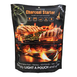 InstaFire  Charcoal Starter  Organic Charcoal Substitute  Wood  1 lb. Natural Lava Rock