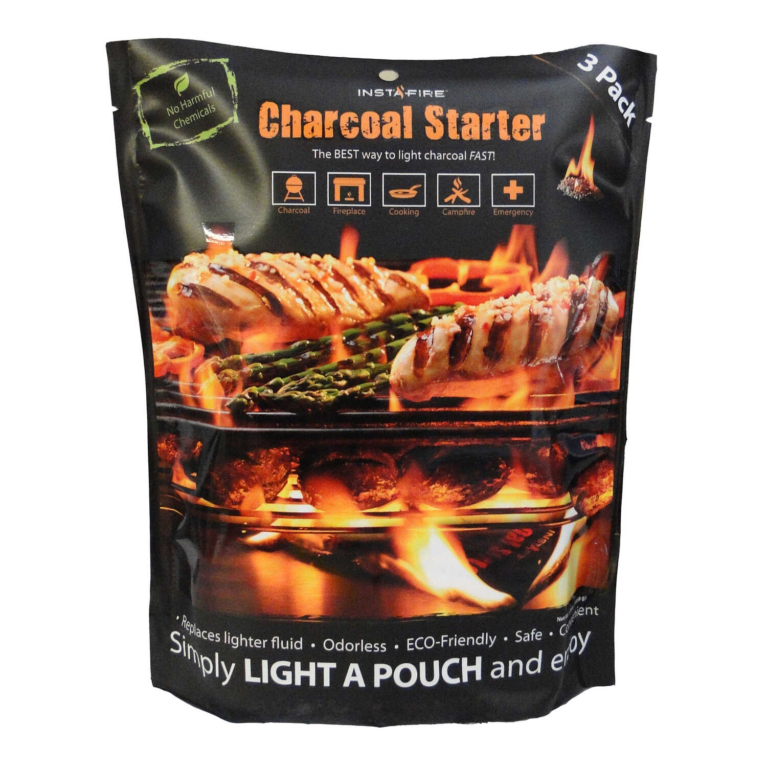 InstaFire  Grill Fire Starter  Charcoal Substitute  1 lb.