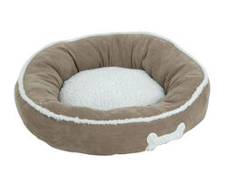 Petmate  Assorted  Sheepskin  Pet Bed  7  H x 22 in. W x 22 in. L
