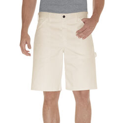Dickies  Men's  Painter's Shorts  42 in  Natural