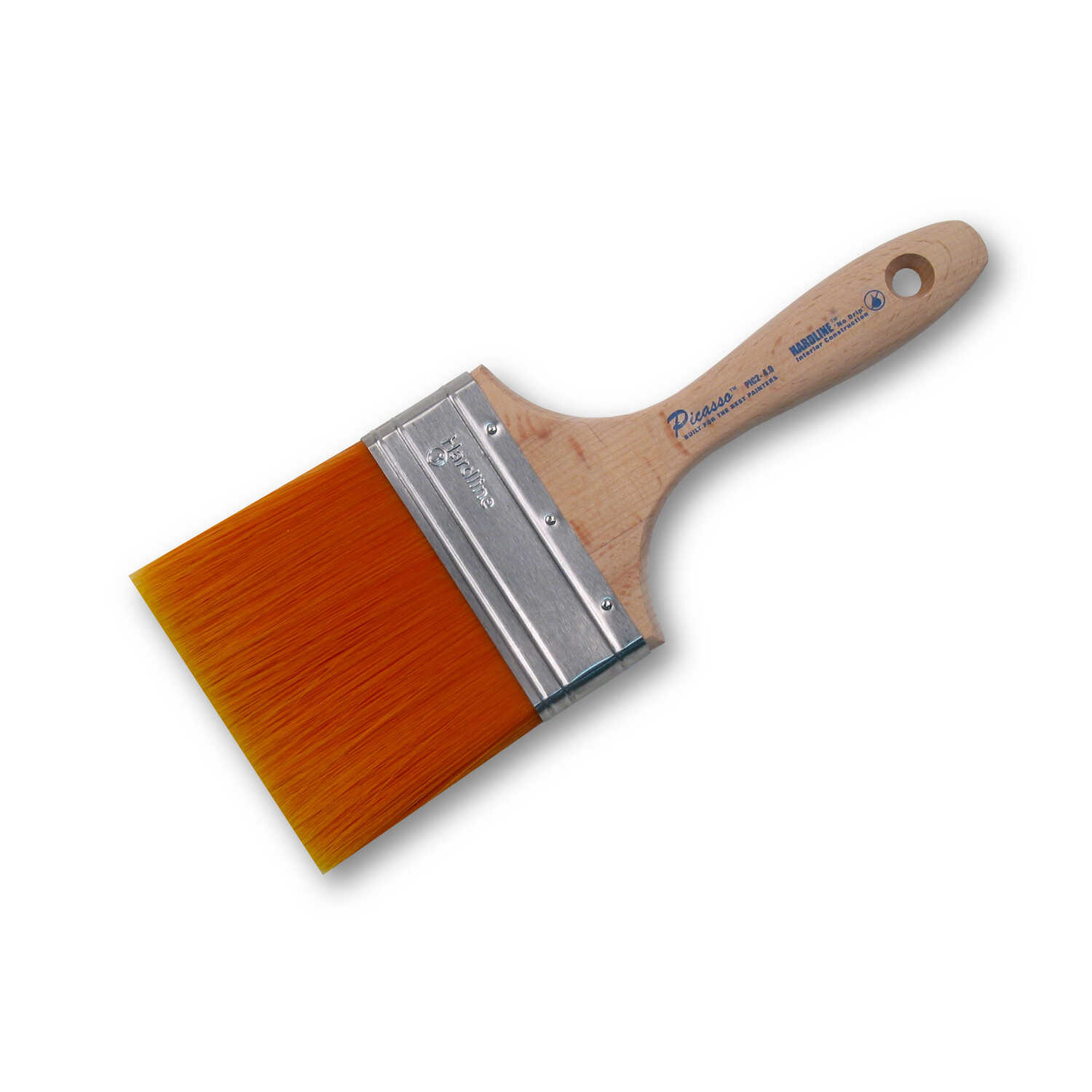 Proform  Picasso  4 in. W Straight  PBT  Soft  Paint Brush