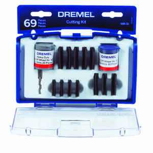 Dremel  7 in   x 7 in. L Carbide  Cutting Kit  69 pc.
