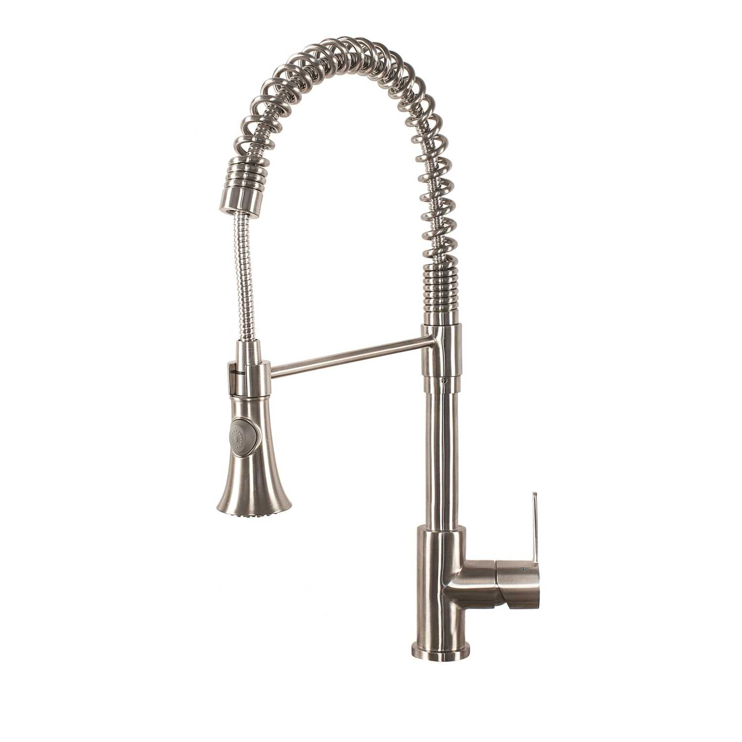 Franke  Bern  Pull Down  One Handle  Stainless Steel  Kitchen Faucet