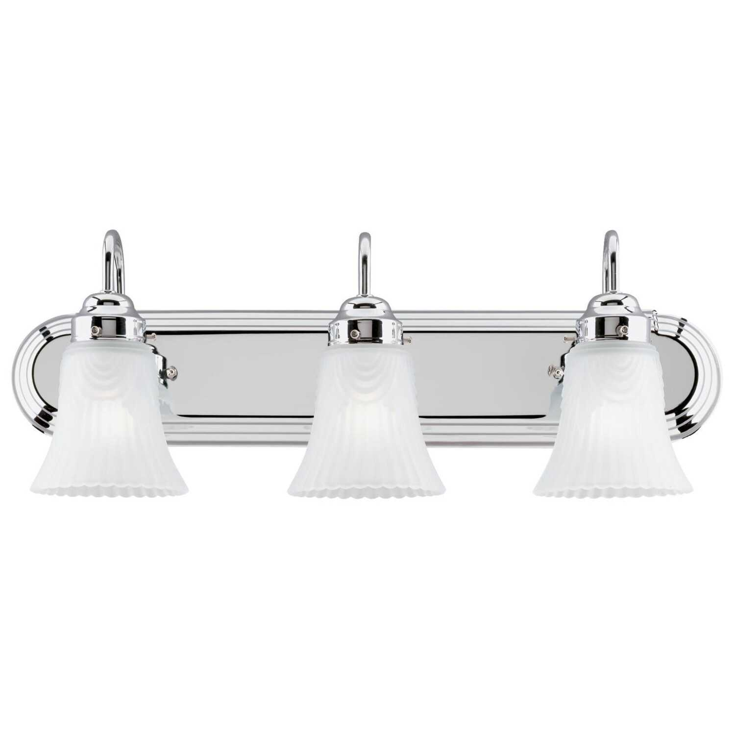 Westinghouse  Chrome  3  Wall Sconce