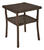Chicago Wicker  Chesapeake  Square  Brown  End Table