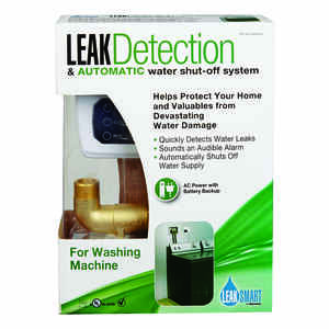 LeakSmart by Waxman  3/4 in. FIP  Dia. x 3/4 in. Dia. MHT  Brass  Leak Detection System