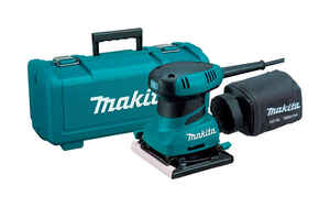 Makita  2  120 volts Corded  Finishing Sander  4-1/2 in. L x 4 in. W 14000 rpm