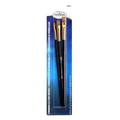 Testors Premuim Flat Paint Brush Set