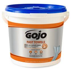 Gojo  Fast Towels  Fresh Citrus Scent Hand and Surface Towels