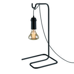 Globe Electric Matte Black 1 lights Pendant Light Table Stand
