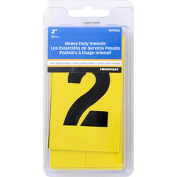 Hillman 2 in. L Heavy Duty Stencil Kit 47 pk