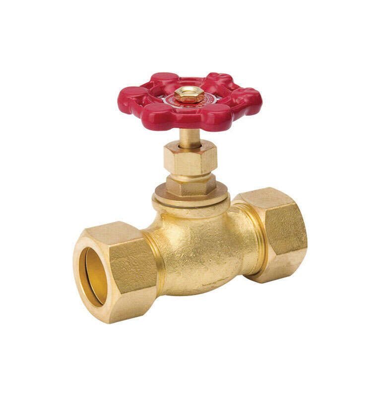 ProLine  1/2 in. 1/2 in.  Copper  Stop Valve