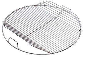 Weber  Hinged  Plated Steel  Grill Cooking Grate  2 in. H x 17.5 in. W x 17.5 in. L