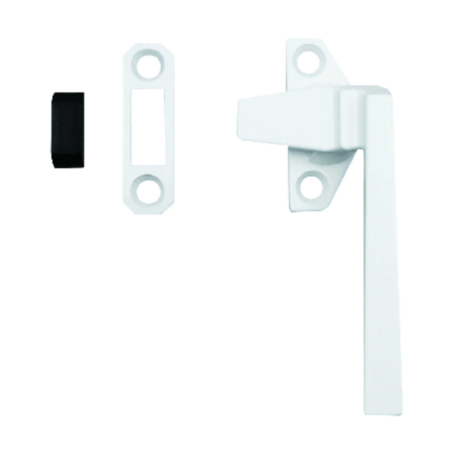 Prime-Line  3.5 in. L Die-Cast  White  Steel  Left  Casement Locking Handle Casement Operator Tee Ha