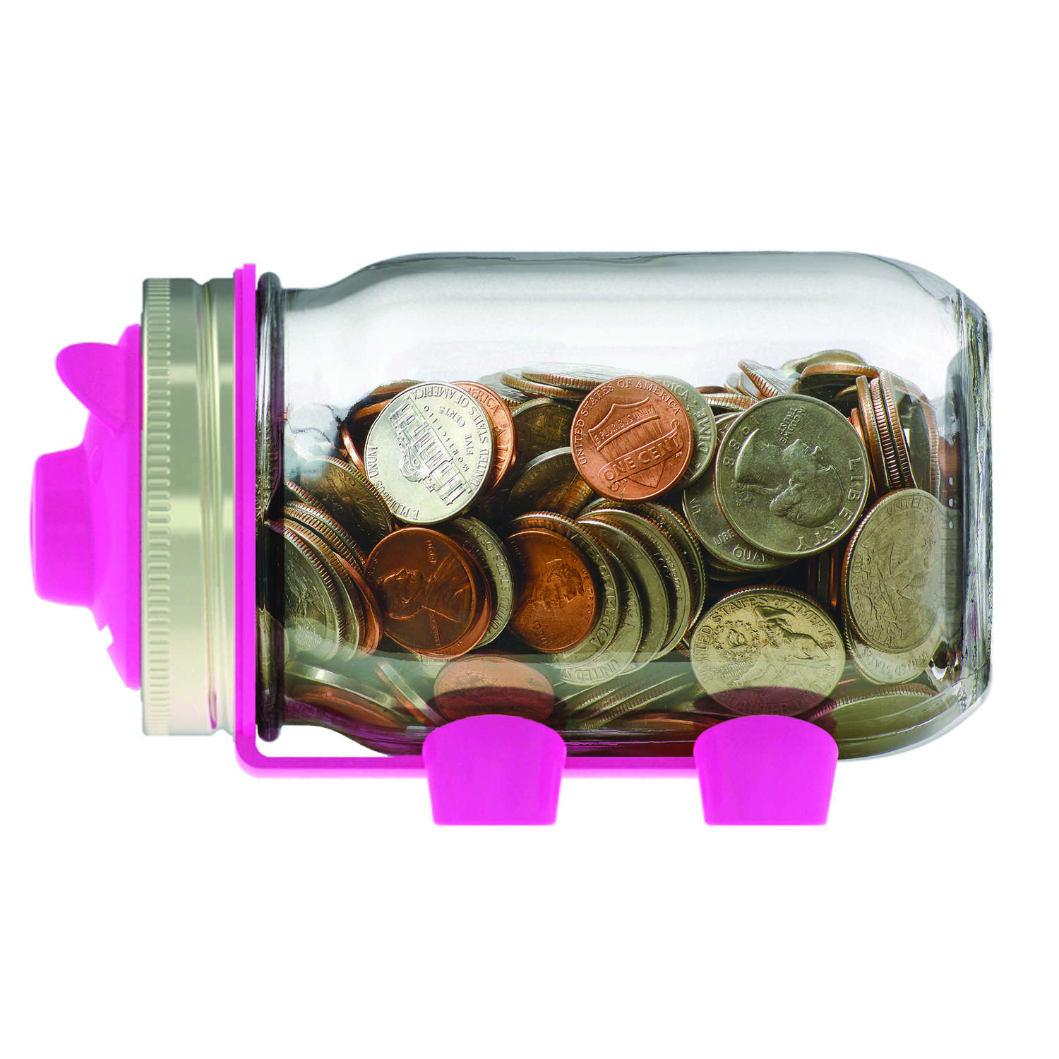 Jarware Regular Mouth Decorative Jar Lid Piggy Bank 1 pk