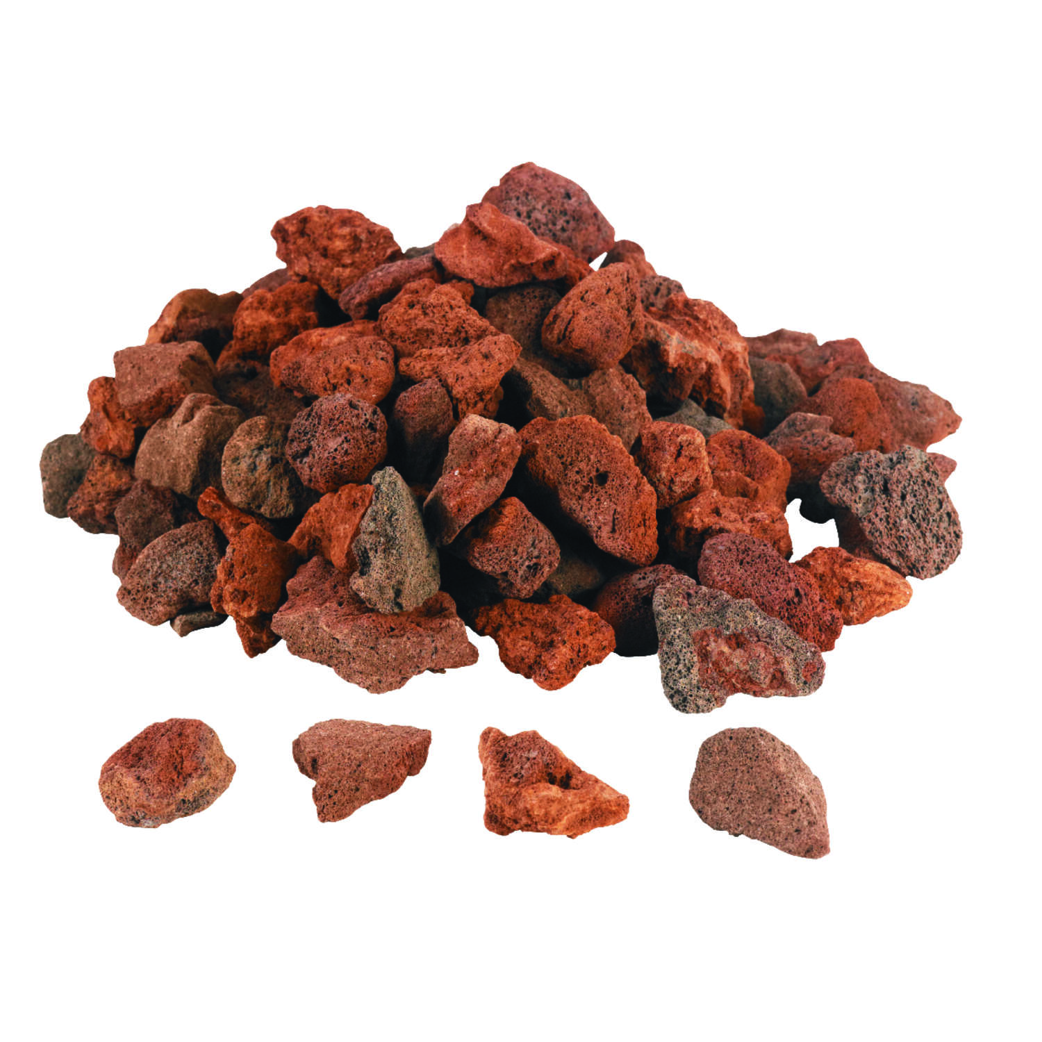Grill Mark  All Natural Lava Rock Briquettes  7 lb.