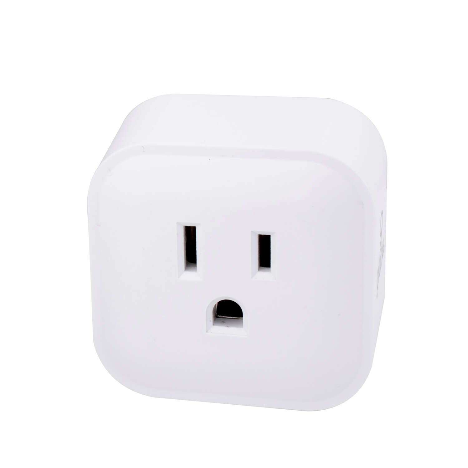 Globe Electric  Wi-Fi Smart Home  15 amps 125 volt Single  White  Electrical WiFi Outlet  1 pk