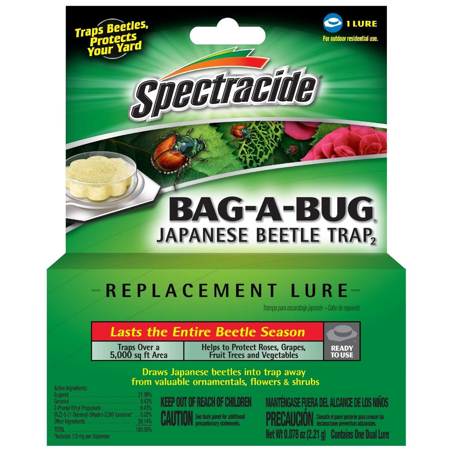 Spectracide  Bag-A-Bug  Japanese Beetle Replacement Lure  1 pk