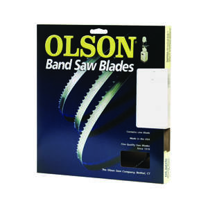 Olson  72.6  L x 0.3 in. W x 0.02 in.  Carbon Steel  Skip  1 pk 6 TPI Band Saw Blade