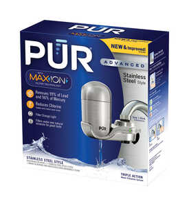 PUR  Maxion  Vertical Faucet Mount Filter  100 gal. For Faucets