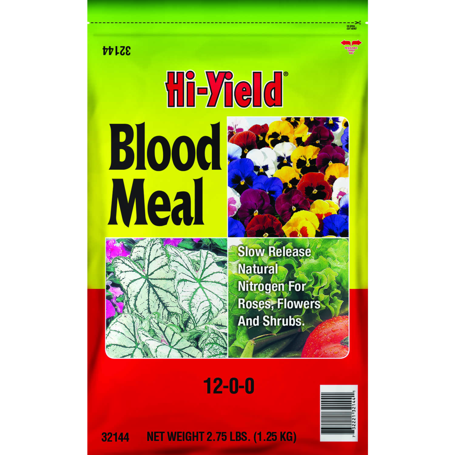 Hi-Yield  Blood Meal  Granules  Organic Plant Food  2.75 lb.