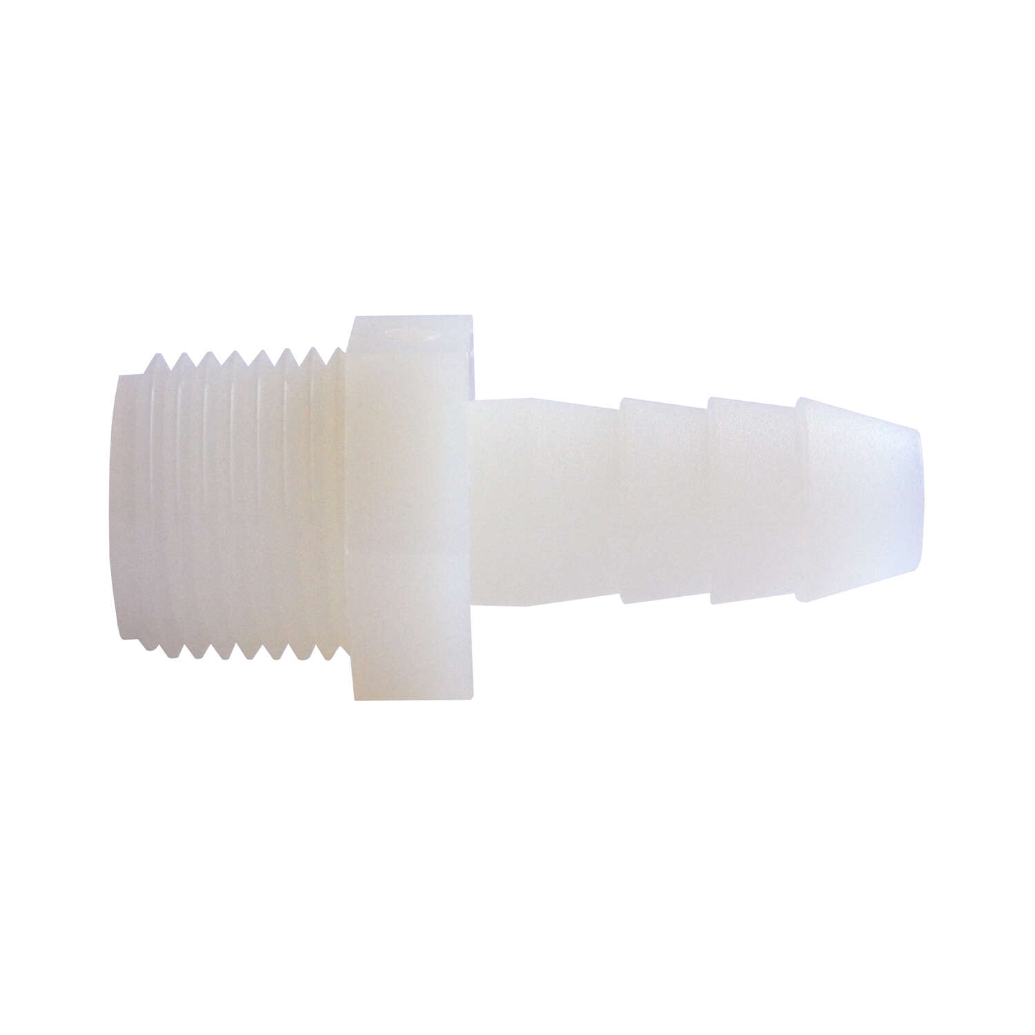 Green Leaf  Nylon  1/4 in. Dia. x 1/4 in. Dia. Adapter  1 pk