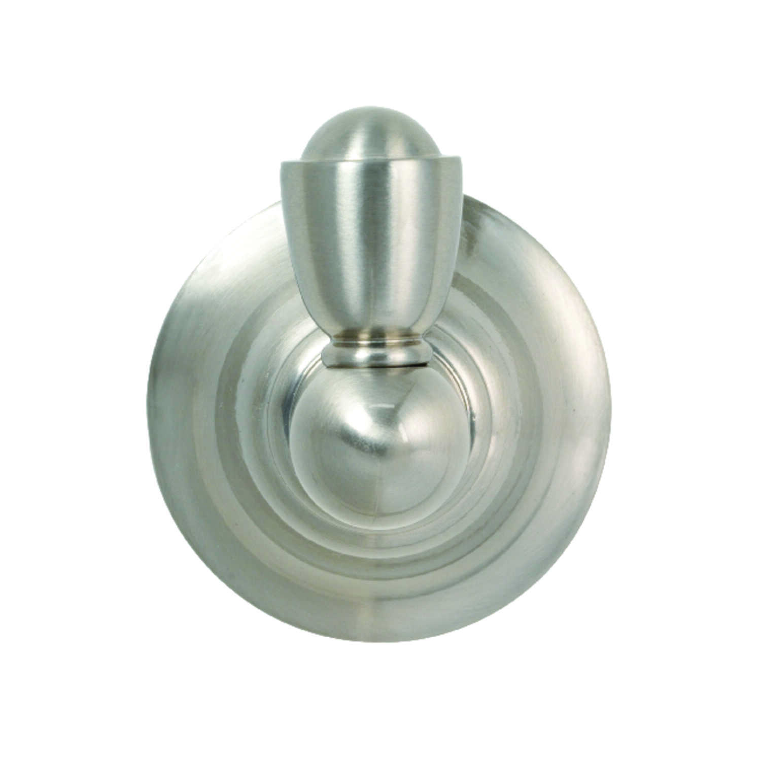 Moen  Sage  Robe Hook  2.6 in. W x 2.8 in. H Brushed Nickel
