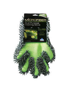 Peak  Microfiber  Car Cleaning Gloves  12 in. L x 8 in. W 1 pk