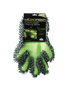 Peak  Microfiber  Car Cleaning Gloves  12 in. L x 8 in. W 1